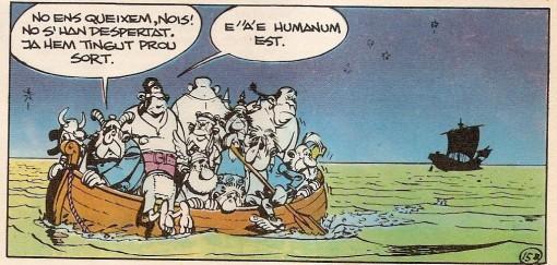 Errare humanum est - Asterix a Còrcega